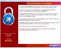 Nachdem CryptoLocker die Dateien seines Opfers verschlüsselt hat, fordert er 600 Euro für deren Entschlüsselung.