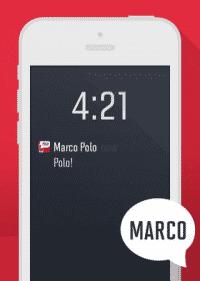 Marco Polo soll aufs Wort gehorchen –auch im Schlafmodus des iPhone.