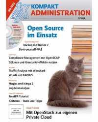 Viele der im Administratorenalltag anfallenden Aufgaben lassen sich mit freier Software bewältigen.