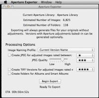 Der Aperture Exporter kann ein praktisches kleines Tool sein.