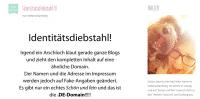 """Nicht nur """"süße Grüße aus der Küche"""": Stefanie Bamberg von """"Schön und fein"""" ist stinksauer über """"Blog-Klau""""."""