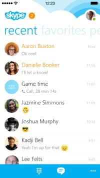 Skype 5 auf dem iPhone