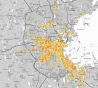 In Boston ist das Leitungsnetz wesentlich älter als in…