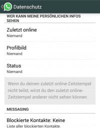 WhatsApp verrät den Online-Status, obwohl die Datenschutz-Einstellungen scharf geschaltet wurden.