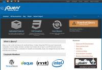 Die jQuery-Webseite