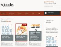 "Sobooks will E-Books mit dem Internet verknüpfen - als Plattform für ""Social Reading""."