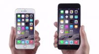 Sehen kann man die Sprecher in den iPhone-6-Spots nicht – um wen es sich handelt, hört man aber schnell heraus.