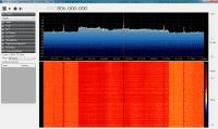 OFDM-Signal des Vodafone-LTE-Downlink im 800-MHz-Band mit SDR#