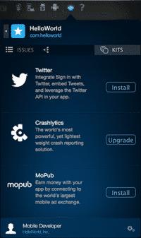 Mit Fabric können Entwickler die von Twitter angebotenen SDKs leicht installieren und auf dem aktuellen Stand halten.
