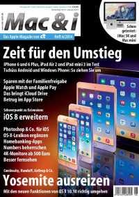 Mac & i Heft 6/2014: Titelbild …