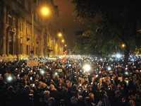 Demo gegen Internet-Steuer