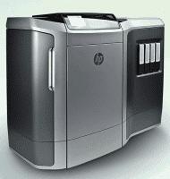 Waschmaschinengroßes Gerät mit viel Zukunftsmusik: 3D-Drucker Multi Jet Fusion von Hewlett-Packard