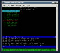Wem die Commandline reicht, der ist mit MCabber gut beraten.