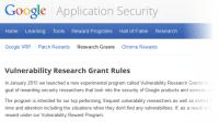 Google belohnt auch Sicherheitsforscher, die keine Lücken finden