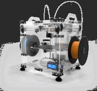 Der zweite Anlauf: Der 3D-Drucker Vertex K8400 von Velleman kostet als Bausatz mit einem Extruder 700 Euro.