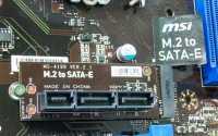 M.2-SATA-Express-Adapter MSI MS-4199