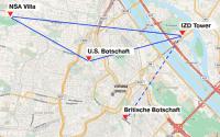 Die bislang bekannten Horchposten in Wien