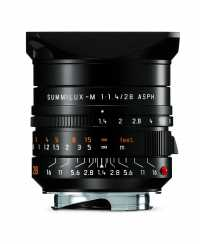 Das schwarz eloxierte Leica Summilux-M 1:1,4/28 mm ASPH. ist für eine unverbindliche Preisempfehlung in Deutschland von 5500 Euro ab Juni 2015 im Leica Fachhandel erhältlich.