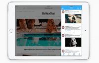 Slide Over erlaubt zum Beispiel, eine Twitter-Nachricht zu beantworten ohne die gerade genutzte App verlassen zu müssen