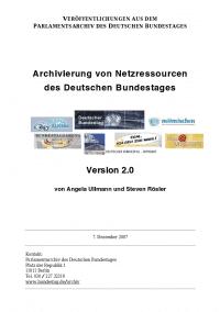 Internes Dokument aus dem Bundestag: Über Directory Listings und öffentliche Logs relativ leicht auffindbar.