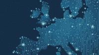 Digitale Europakarte