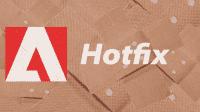 Adobe Hotfix