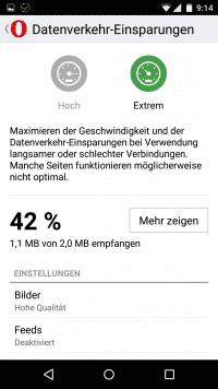 Maximale Geschwindigkeit oder eine unveränderte Bedienoberfläche der besuchten Websites: Opera-Mini-Nutzer haben jetzt die Wahl.