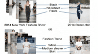 Maschinelles Sehen zur Analyse der Verbreitung von Modetrends