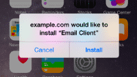 Enterprise-App-Installation in iOS