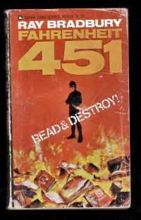 """Gebrauchtes Taschenbuch """"Fahrenheitn 451"""""""