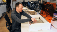 Lasercutter geht durch die Decke: Mr Beam II auf Kickstarter
