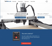 ToolHubs Webseite.