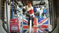 Britischer Astronaut läuft Marathon an Bord der ISS in Rekordzeit