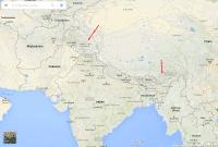 Diese gestrichelten Linien sind Indiens Regierung ein Dorn im Auge