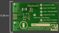 One Dollar Board: Mikrocontroller-Platine Arduino