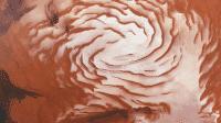 Forscher finden Eiszeit-Spuren am Mars-Nordpol