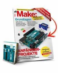 """Wieder erhältlich: Sonderheft """"Make Arduino Special"""" – inklusive Board"""