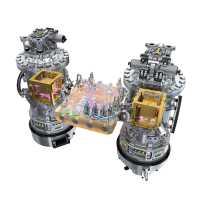 Die beiden Testmassen in LISA Pathfinder