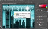 Die Font-Analyse des Text-Werkzeugs sucht selbstständig nach passendem Ersatz, wenn eine gewünschte Schrift nicht installiert ist.