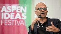 Microsoft-Chef Satya Nadella auf dem Aspen Ideas Festival