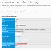 """Unter """"about:support"""" lässt sich feststellen, ob Firefox bereits mehrere Prozesse benutzt."""