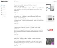 Bookmark-Dienst mit Archiv: Bei Instapaper lagert man Web-Fundstücke zum späteren Lesen.