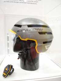 Der C-94-Helm von Cratoni ist noch ein Prototyp.