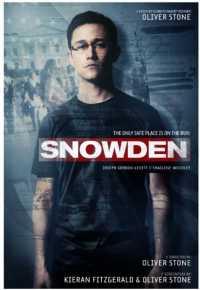 """Filmposter für """"Snowden"""". Bei uns läuft der Film nächste Woche an"""