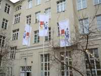 """Die einst berüchtigte Rütli-Hauptschule in Berlin-Neukölln wurde inzwischen mit einer Realschule zur Gemeinschaftsschule """"Campus Rütli"""" vereint."""