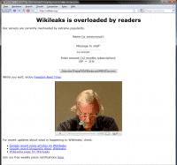 Wikileaks kurz vor dem vollständigen Ausfall