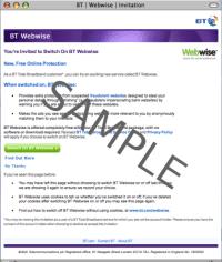 Internet-Tracking als Online-Schutz verkauft: Die Einladung von BT zu Phorm/Webwise