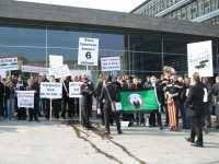 Mahnwache gegen Internet-Zensur