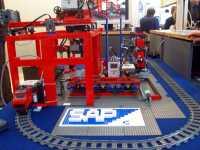 Legoanlage mit RFID zur SAP/ERP-Ausbildung