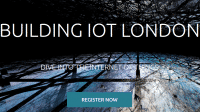 Building IoT London: Frühbucherrabatt nun bis 24. Januar